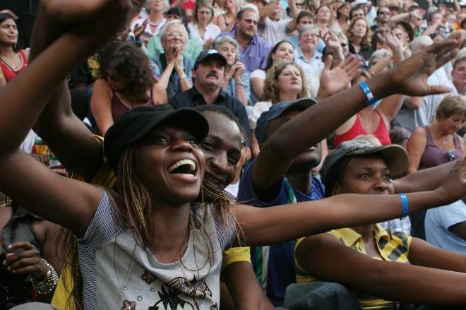 HIFA Audiences Enjoying a show