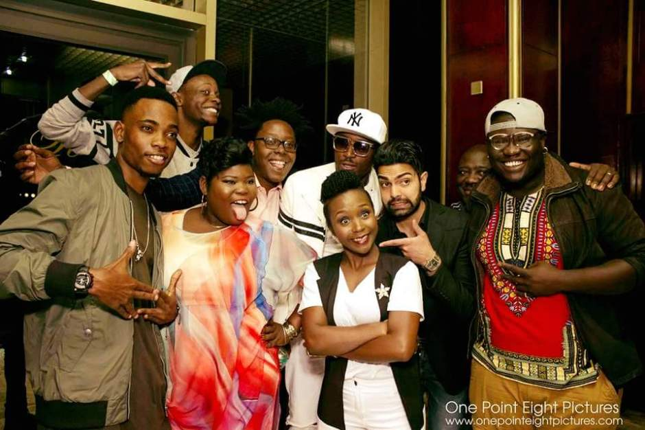 Kansiime and The Comedians Zim